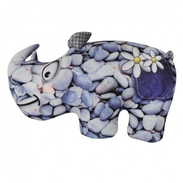 Подушка декоративная 43*28см ″Носорог″ купить оптом и в розницу