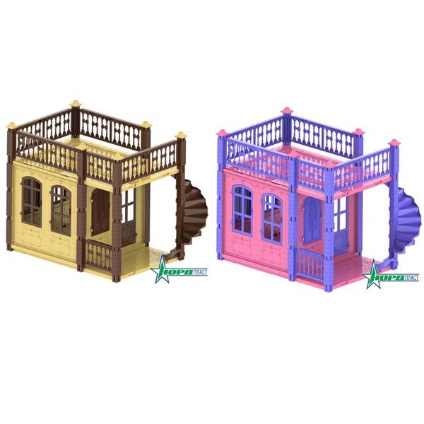 Дом 590/1-2 Замок Принцессы 1 эт. в ассорт. Норд /2/ купить оптом и в розницу
