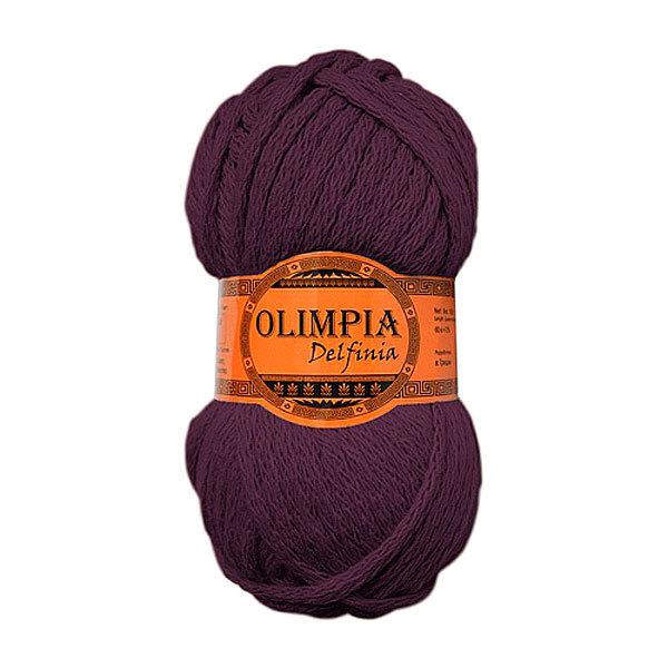 Пряжа для вязания Olimpia Delfinia цв.DL03 слива 500г 5шт купить оптом и в розницу