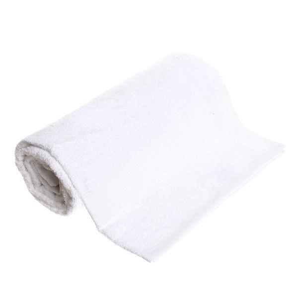 Махровое полотенце 70*140см белое ЭК140 Д01 купить оптом и в розницу