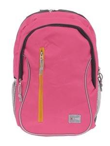 Рюкзак школьный PROFF X-line 43.5*26.5*18 см, 1 отд. на молнии, 4 внеш. карм., розово-серый, c орто.спинкой купить оптом и в розницу