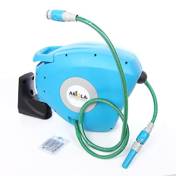 Катушка со шлангом 20м 1/2″ настенная автоматическая ARIOLA Чехия E-2000N купить оптом и в розницу