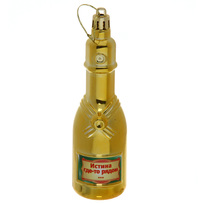 Ёлочная игрушка ″Шампанское ″Истина где-то рядом...″ купить оптом и в розницу