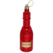 Ёлочная игрушка ″Шампанское ″За счастье!″ купить оптом и в розницу