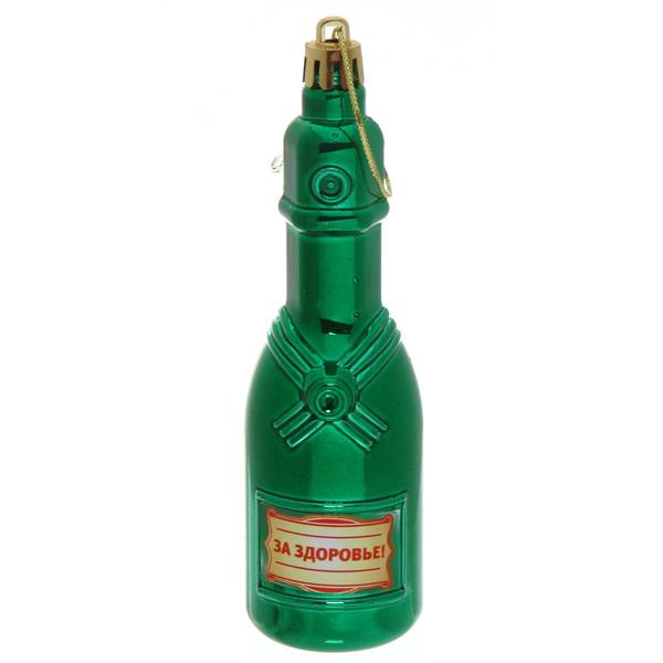 Ёлочная игрушка ″Шампанское ″За здоровье!″ купить оптом и в розницу