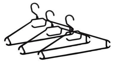 Вешалка-плечики для легкой одежды 52-54 (комплект 3 шт) * 30 купить оптом и в розницу