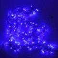 Гирлянда твинклайт 2м, 200 ламп микроLED, ″Фейерверк″, синий с удлинит. купить оптом и в розницу