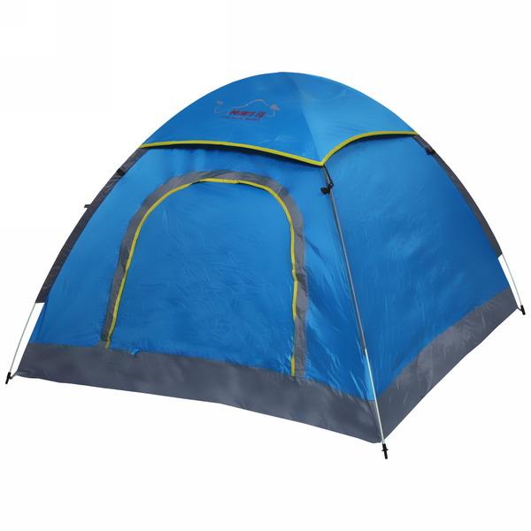 Палатка кемпинговая самораскладывающаяся 3-местная 1-слойная NEW, 200*200*135 купить оптом и в розницу