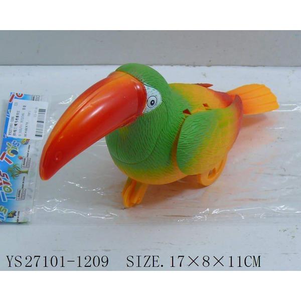 Игрушка заводная 1209ST Птица на карт. купить оптом и в розницу