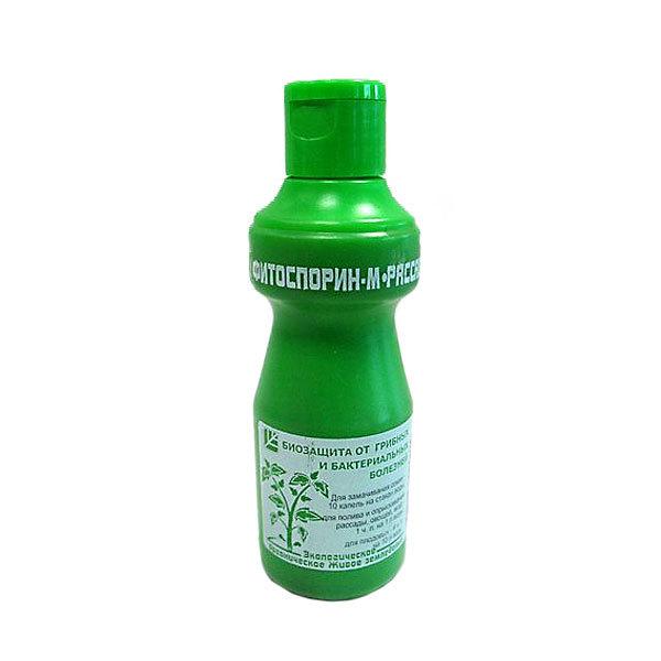 Средство для защиты растений от болезней 110гр жидкость Рассада, овощи Фитоспорин-М купить оптом и в розницу