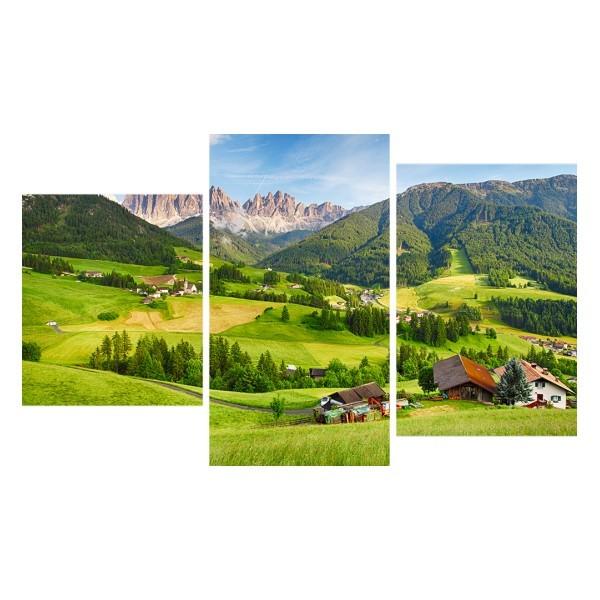 Картина модульная триптих 55*96 Природа диз.11 18-01 купить оптом и в розницу