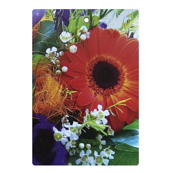 Доска разделочная 29*21*0,5см ″Цветы″ купить оптом и в розницу