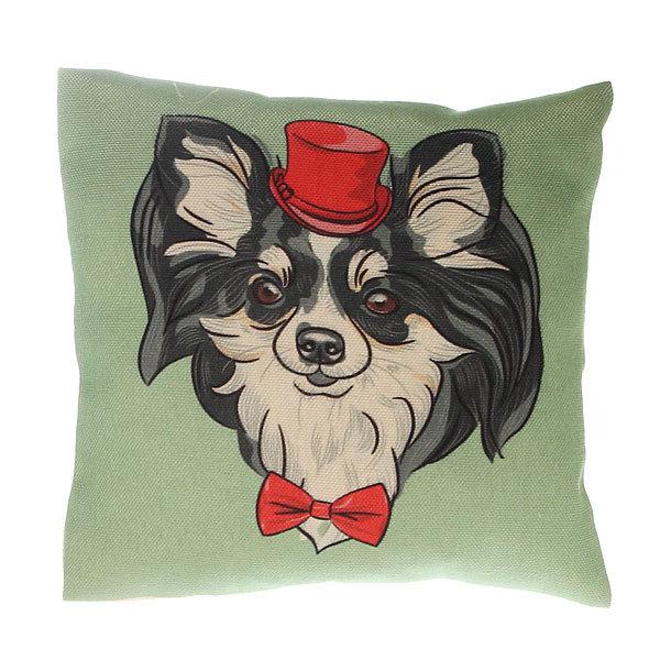 Подушка декоративная Арома 18*18см ″Собаки″ купить оптом и в розницу