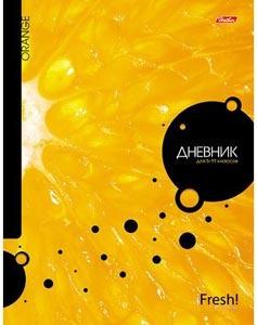 """Дневник д/старш.кл.тв.обл.HATBER, """"iFRESH-апельсин"""", поролон купить оптом и в розницу"""