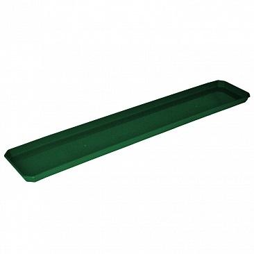 Поддон для балконного ящика 80 см темно-зеленый *20 купить оптом и в розницу