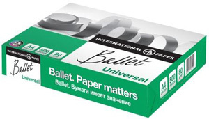 Бумага д/ксерокопий А4, Ballet Universal, Светогорск, 500л. купить оптом и в розницу