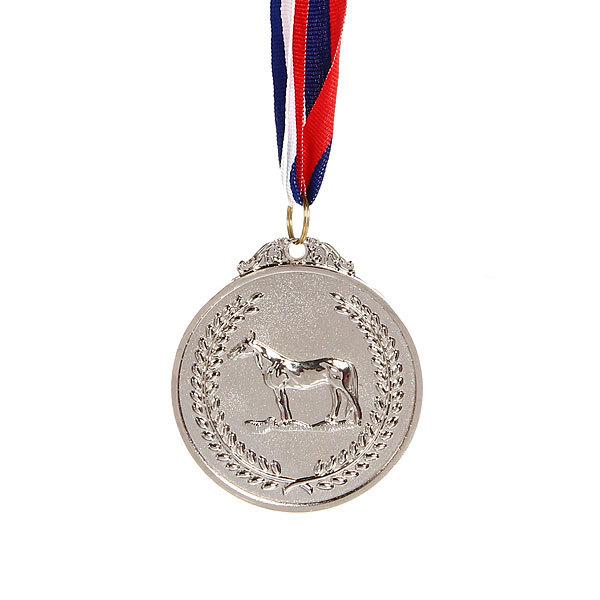 Медаль ″Конный спорт″ - 2 место (6,5см) купить оптом и в розницу