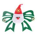 Елочная игрушка подвеска ″Бант Дед Мороз″ 12,5*15см купить оптом и в розницу