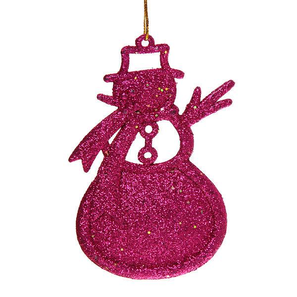 Ёлочные игрушки подвески, набор 3шт,10,5*7см ″Снеговички″ купить оптом и в розницу