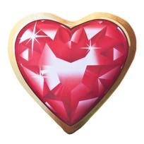 Подушка декоративная 30*32см Бриллиантовое сердце 66621 купить оптом и в розницу