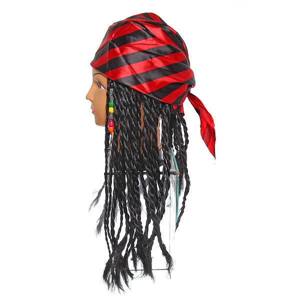 Парик карнавальный ″Пират полосатая бондана″ SR-195А купить оптом и в розницу