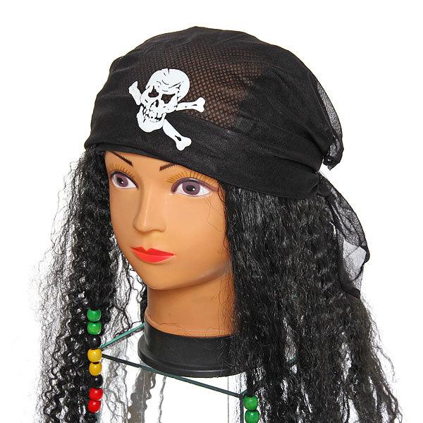 Парик карнавальный ″Пиратка бусины″ SR-184 купить оптом и в розницу