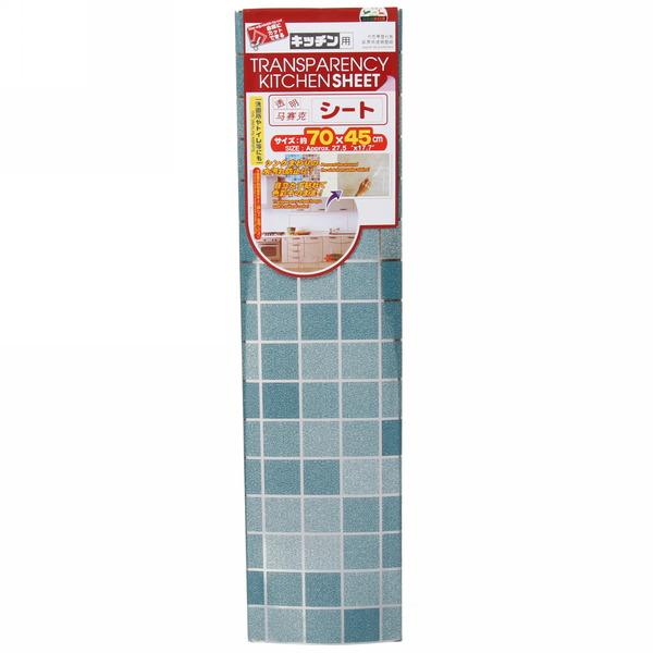 Защитная пленка-стикер 45*70см Голубая клетка купить оптом и в розницу