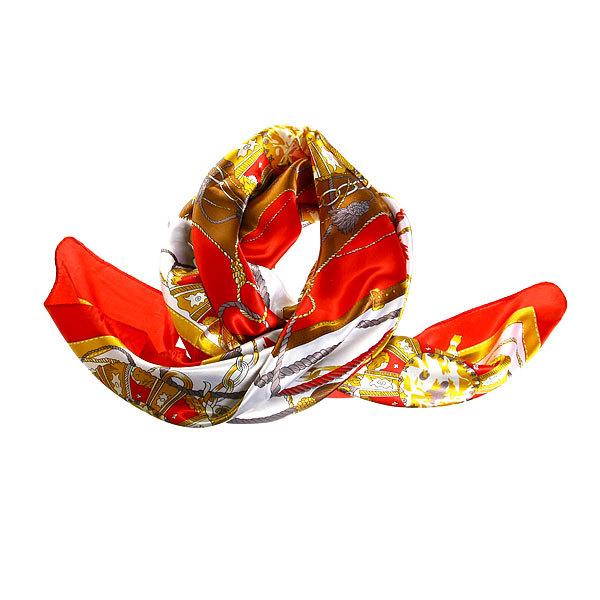 Платок женский ″Кисточки″, микс 6 цветов, полиэстер, 90*90см купить оптом и в розницу