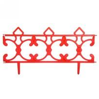 Забор декоративный ″Ковка″ 6 шт красный 3,5м*0,225м купить оптом и в розницу
