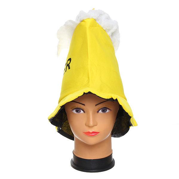 Шляпа карнавальная ″Пивная кружка″ 1624-17 купить оптом и в розницу