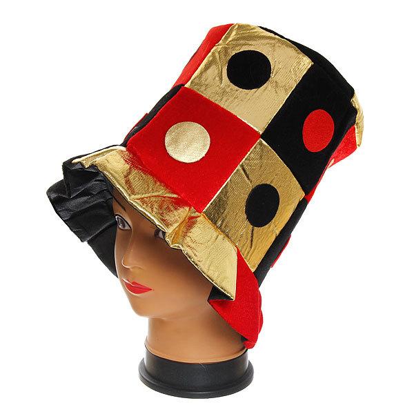 Шляпа карнавальная ″Цилиндр азарт″ 1624-19 купить оптом и в розницу