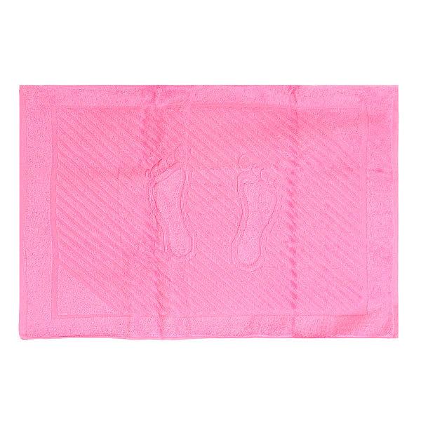 Махровое полотенце для ног 50*70см светло-розовое купить оптом и в розницу