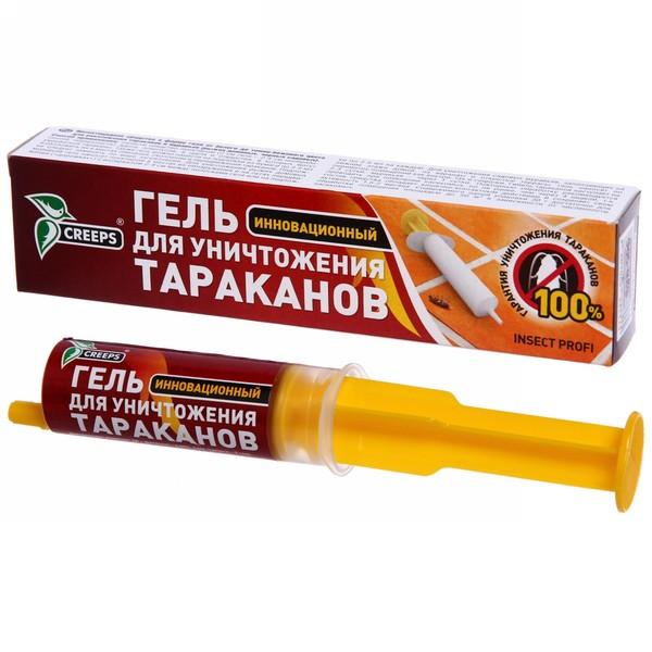 Гель против тараканов шприц 50 мл ″Домовой″ купить оптом и в розницу