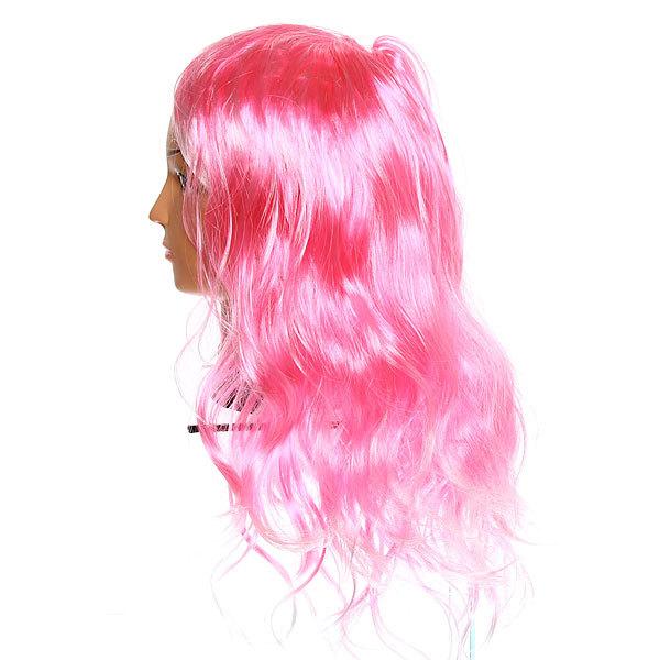 Парик карнавальный ″Нежные локоны″ розово-белые купить оптом и в розницу