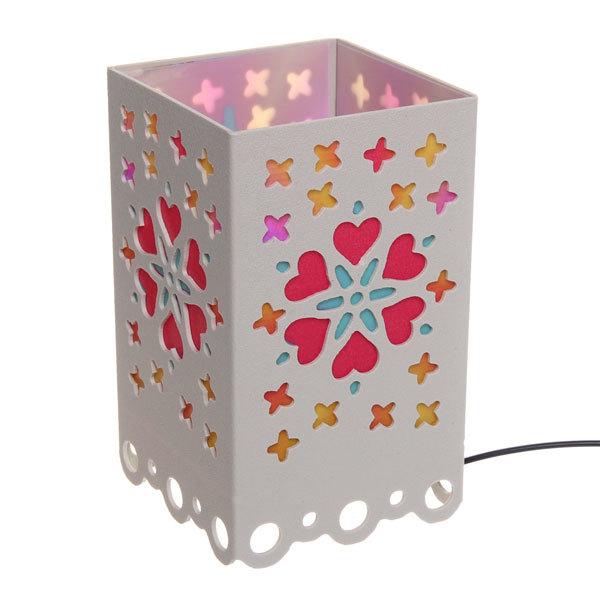Светильник декоративный ″Цветы, сердечки″, 17 см, 220 В купить оптом и в розницу