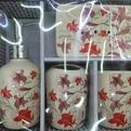 Набор для ванной из 4-х предметов керамический 10501-209 купить оптом и в розницу