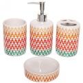 Набор для ванной из 4-х предметов керамический 11225-11 купить оптом и в розницу
