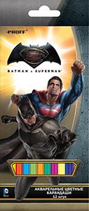 Цв.каранд.12цв.аквар.Proff Бэтмен против Супермена к/у евоподв. купить оптом и в розницу