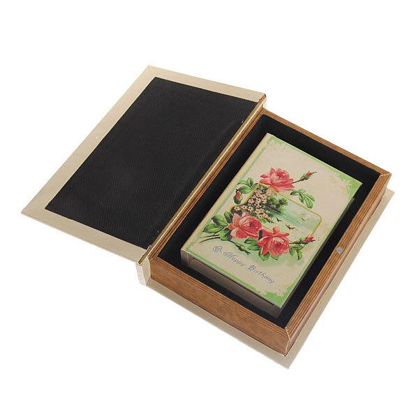 Шкатулка ″Carte postale С днем рождения″ (набор 2шт) дерево купить оптом и в розницу