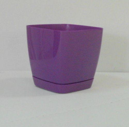 Кашпо Тоскана квадр . фиолет 15 2,5 л. *10 Form plastic купить оптом и в розницу