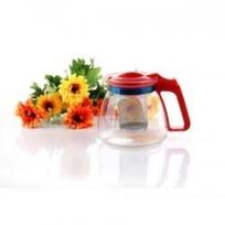 Чайник заварочный 900 мл жаропрочное стекло металлический фильтр (1) купить оптом и в розницу