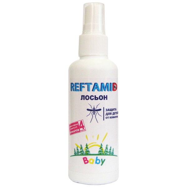 Лосьон от комаров детский 100 мл Рефтамид купить оптом и в розницу