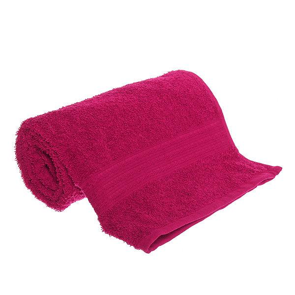 Махровое полотенце 50*90см бордовое ЭК90 Д01 купить оптом и в розницу