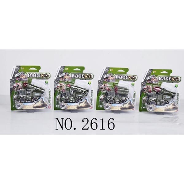 Машина инерц. 2616 военная на карт. купить оптом и в розницу