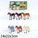 Набор животных 336Е-6НВ лошадки купить оптом и в розницу
