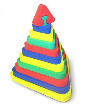 """Пирамида обьемная 318 Треугольник """"Бомик"""" купить оптом и в розницу"""