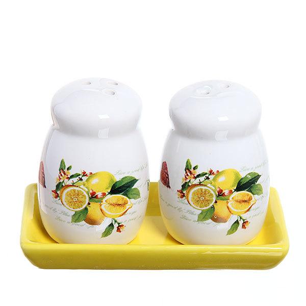 Набор для специй на подставке 2 шт ″Лимоны″ купить оптом и в розницу
