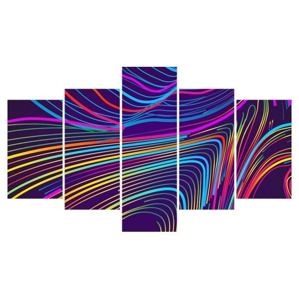 Картина модульная полиптих 75*130 Абстракция диз.3 78-02 купить оптом и в розницу