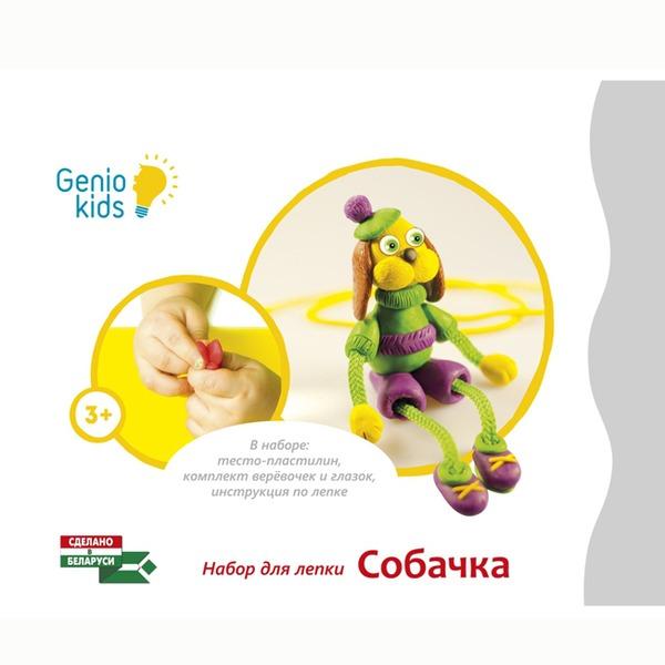 Набор ДТ Тесто для лепки Собачка ТА1076-2 /Genio Kids купить оптом и в розницу