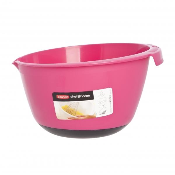 Кухонная миска 3л розовый Curver/ *6 шт купить оптом и в розницу
